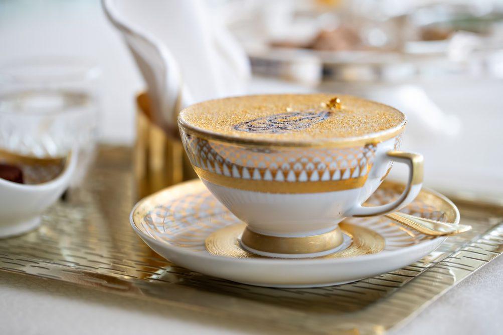 Burj Al Arab Luxury Hotel - Jumeirah St, Dubai, UAE - 24 Carat Gold Cappuccino
