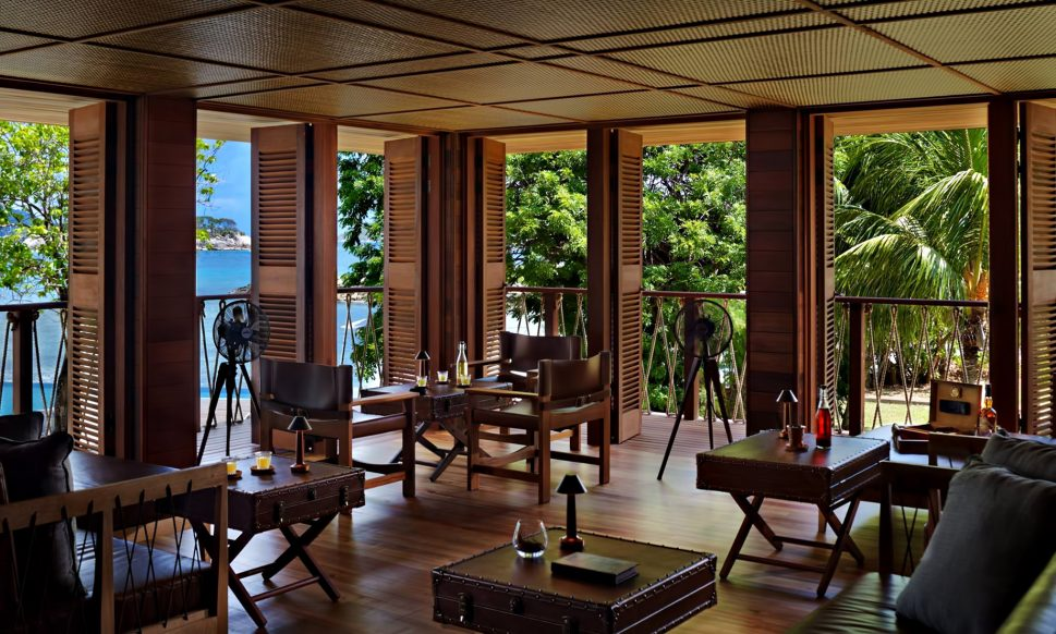 Six Senses Zil Pasyon Luxury Resort - Felicite Island, Seychelles - Rum Bar