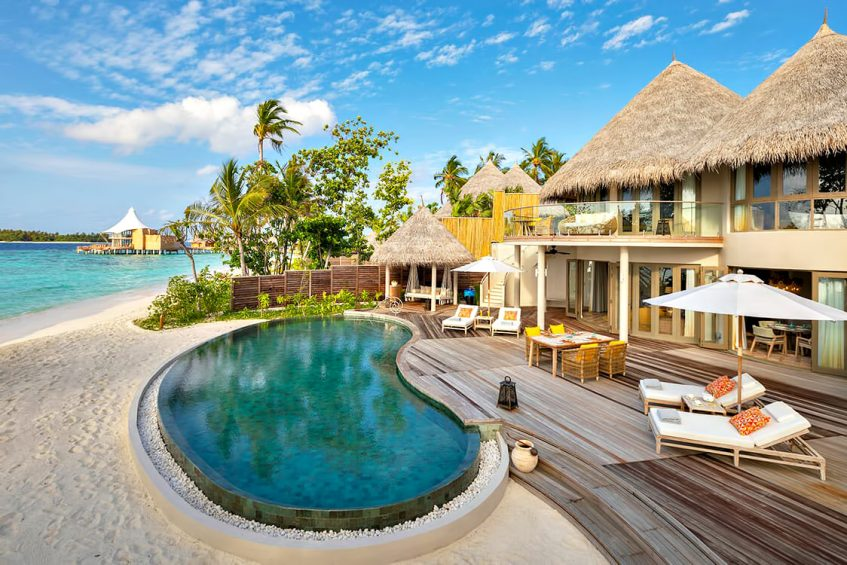 The Nautilus Maldives Luxury Resort - Thiladhoo Island, Maldives - Beachfront Residence