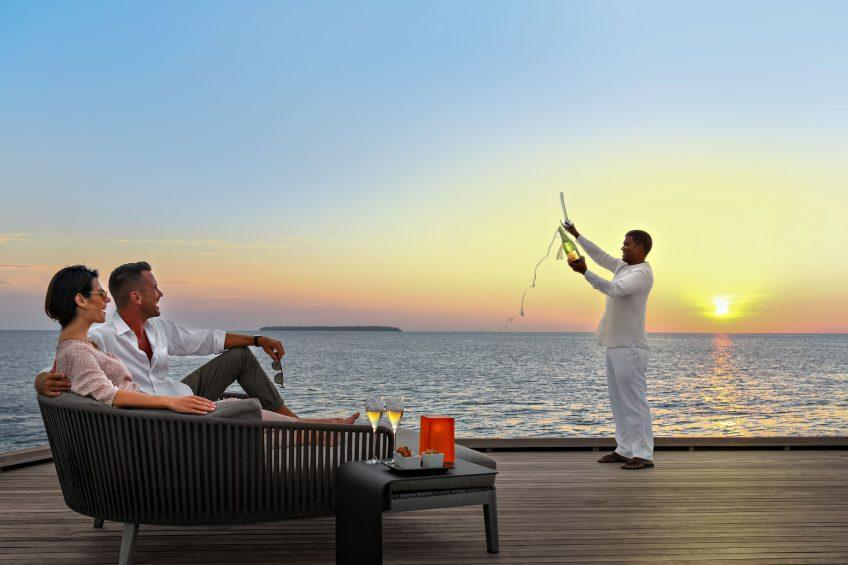 The St. Regis Maldives Vommuli Luxury Resort - Dhaalu Atoll, Maldives - Evening Ritual