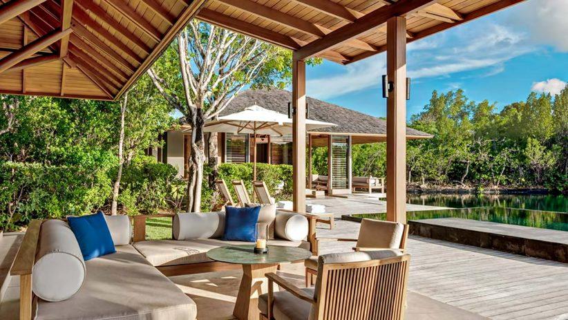 Amanyara Luxury Resort - Providenciales, Turks and Caicos Islands - 3 Bedroom Tranquility Villa Pool Deck Terrace