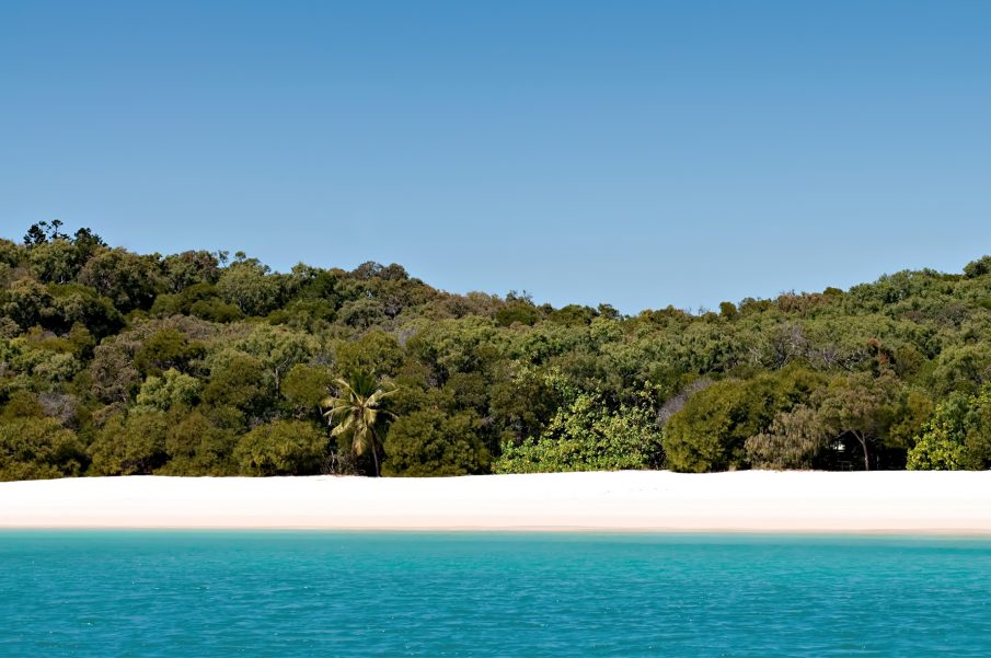 InterContinental Hayman Island Resort - Whitsunday Islands, Australia - Long Beach