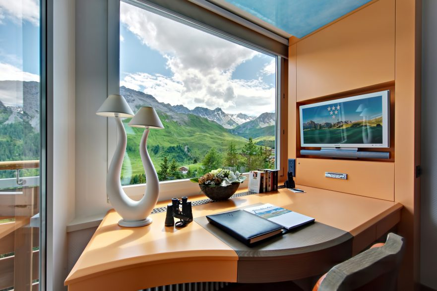 Tschuggen Grand Luxury Hotel - Arosa, Switzerland - Mountain View