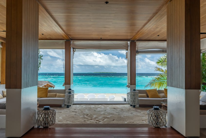 Amilla Fushi Luxury Resort and Residences - Baa Atoll, Maldives - Beachfront Baa Baa Bar Beach Ocean View