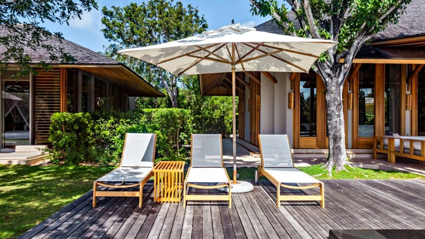 Amanyara Luxury Resort - Providenciales, Turks and Caicos Islands - 3 Bedroom Tranquility Villa Pool Deck Chairs