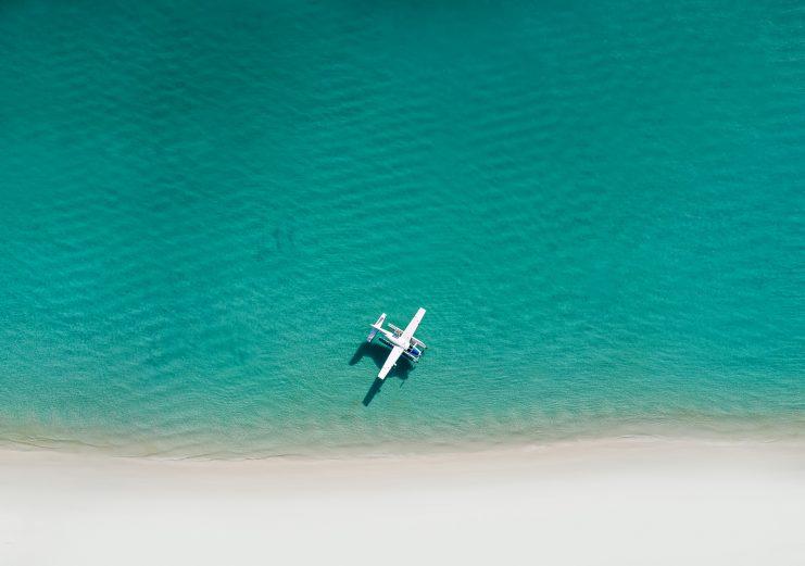 InterContinental Hayman Island Resort - Whitsunday Islands, Australia - Whitehaven Beach Float Plane