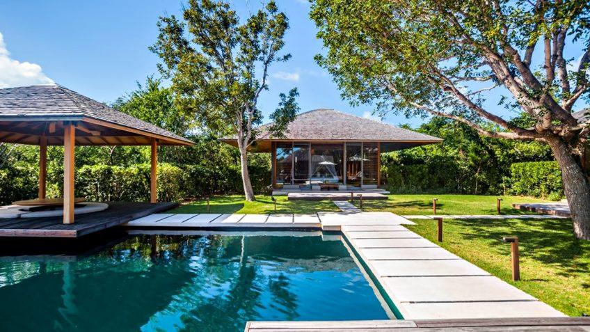 Amanyara Luxury Resort - Providenciales, Turks and Caicos Islands - 3 Bedroom Tranquility Villa Grounds