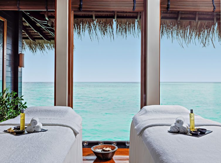 One&Only Reethi Rah Luxury Resort - North Male Atoll, Maldives - Wellness Spa Double Treatment Room View