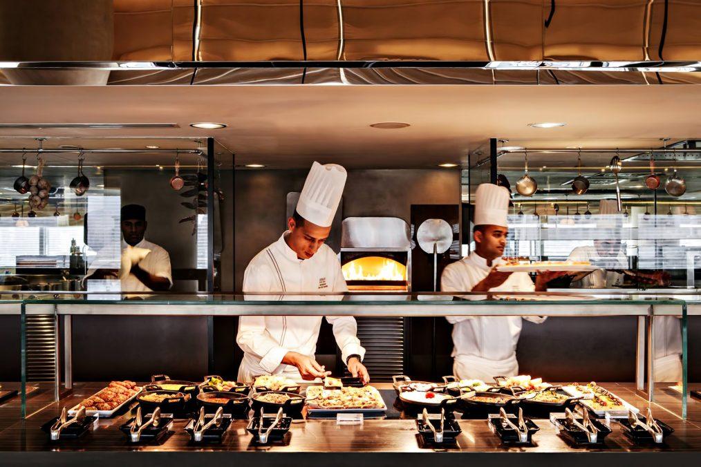 Armani Hotel Dubai - Burj Khalifa, Dubai, UAE - Armani Mediterraneo Kitchen