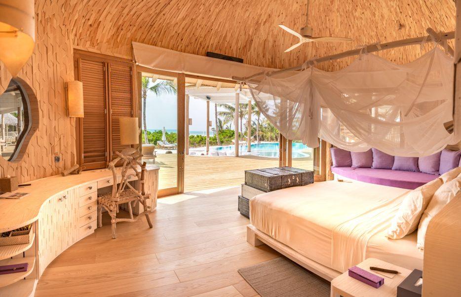 Soneva Jani Luxury Resort - Noonu Atoll, Medhufaru, Maldives - 3 Bedroom Island Reserve Villa Bedroom