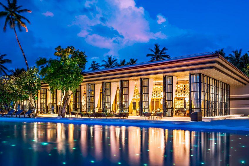 The St. Regis Maldives Vommuli Luxury Resort - Dhaalu Atoll, Maldives - Alba Restaurant Exterior