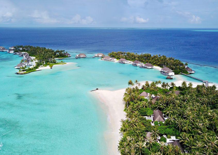 Cheval Blanc Randheli Luxury Resort - Noonu Atoll, Maldives - Resort Aerial