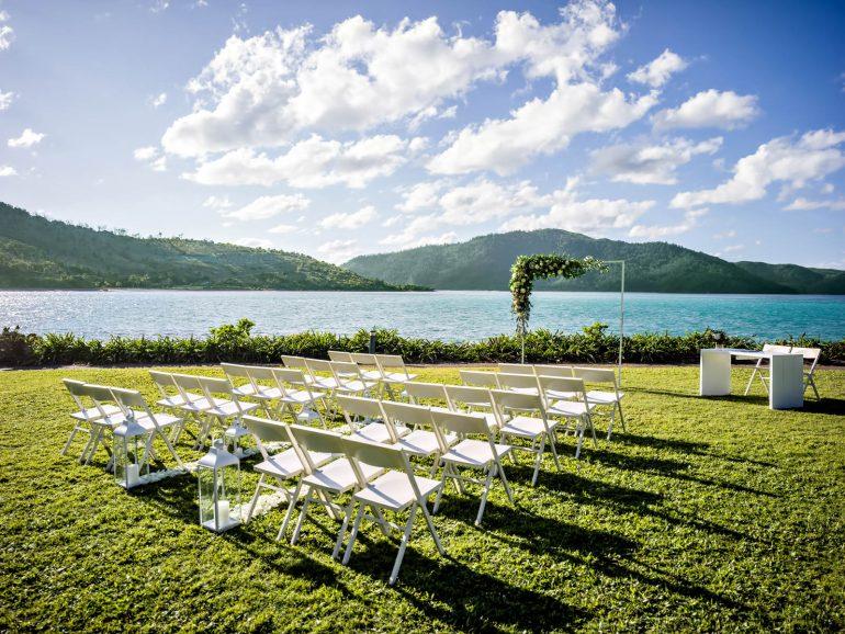 InterContinental Hayman Island Resort - Whitsunday Islands, Australia - Coconut Grove Ceremony