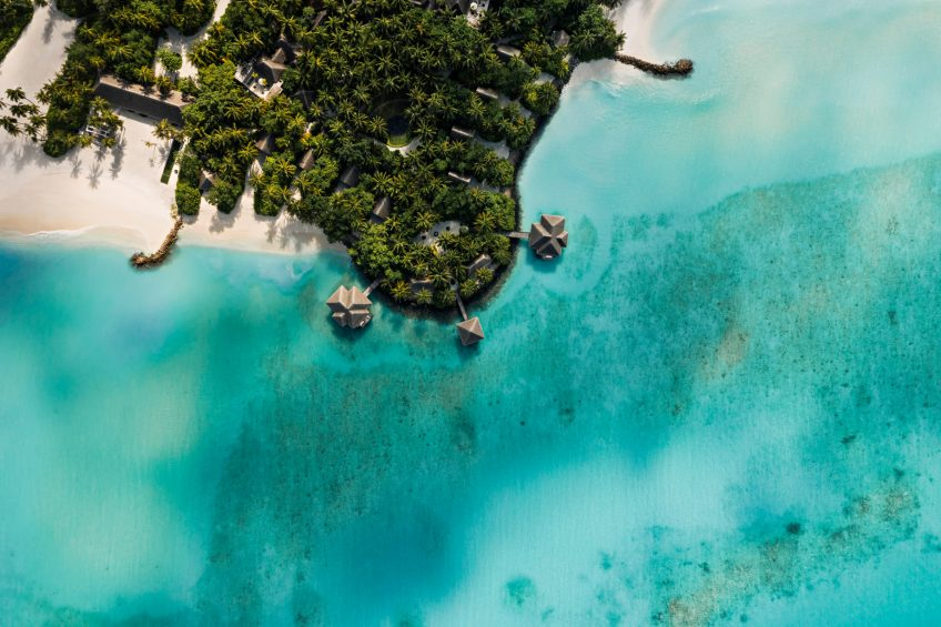 One&Only Reethi Rah Luxury Resort - North Male Atoll, Maldives - Spa Aerial