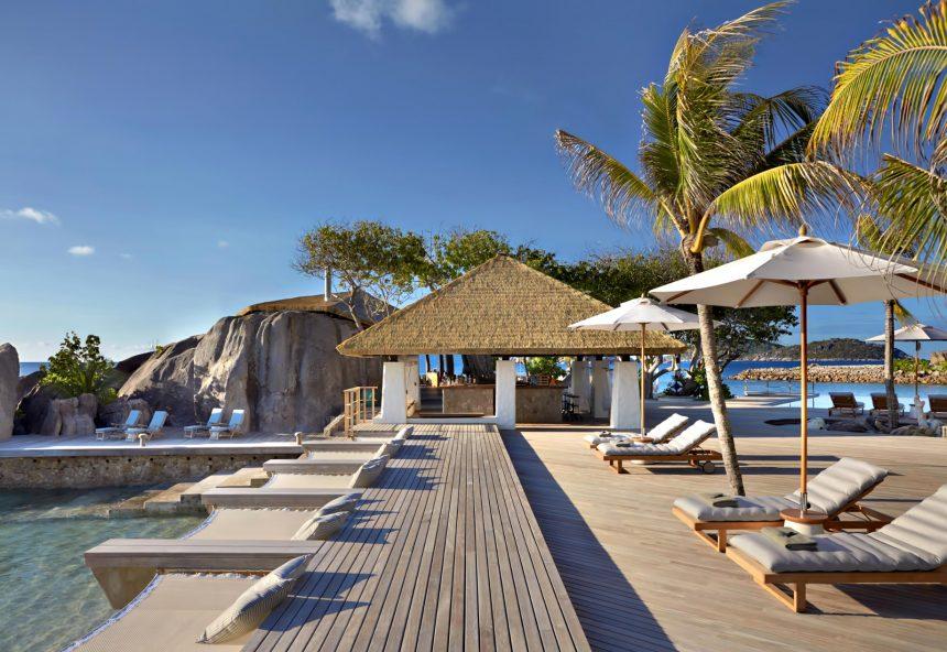 Six Senses Zil Pasyon Luxury Resort - Felicite Island, Seychelles - Main Pool Deck