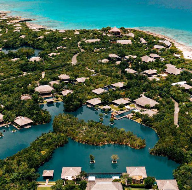 Amanyara Luxury Resort - Providenciales, Turks and Caicos Islands - Resort Aerial View