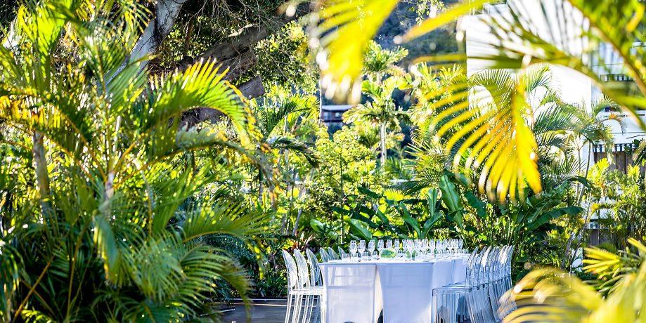 InterContinental Hayman Island Resort - Whitsunday Islands, Australia - Beachfront Banquet Table