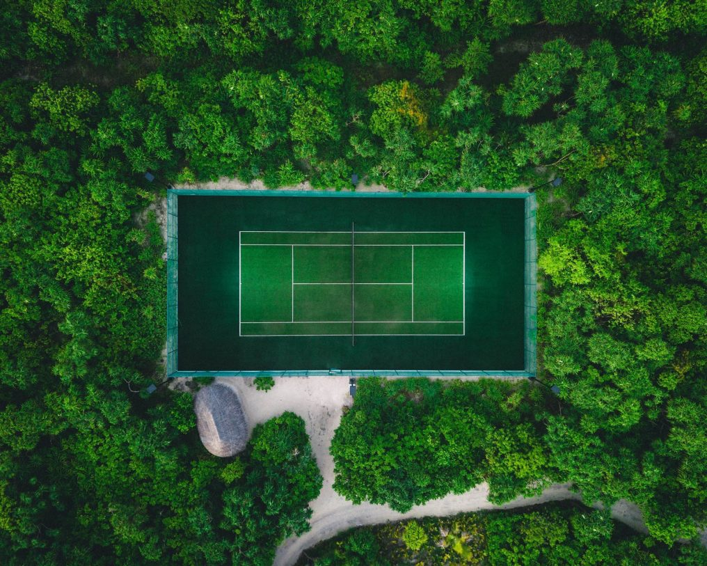 Soneva Jani Luxury Resort - Noonu Atoll, Medhufaru, Maldives - Private Island Tennis Court