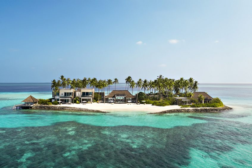 Cheval Blanc Randheli Luxury Resort - Noonu Atoll, Maldives - Private Island Aerial