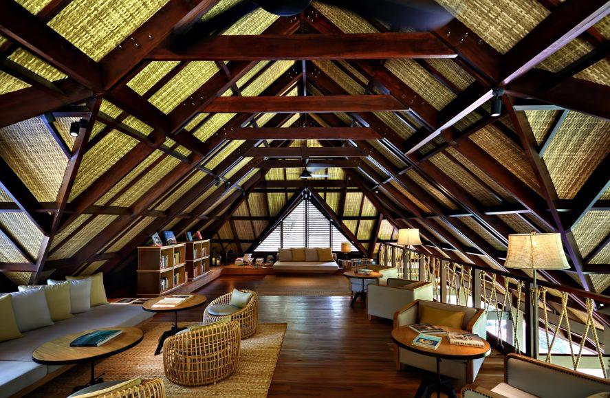 Six Senses Zil Pasyon Luxury Resort - Felicite Island, Seychelles - Lounge