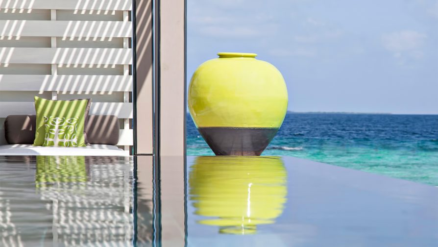 Cheval Blanc Randheli Luxury Resort - Noonu Atoll, Maldives - Exclusive Private Island Villa Pool Ocean View