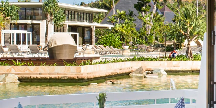 InterContinental Hayman Island Resort - Whitsunday Islands, Australia - Hayman Resort Balcony Pool View
