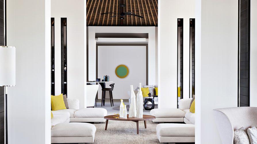 Cheval Blanc Randheli Luxury Resort - Noonu Atoll, Maldives - Exclusive Private Island Villa Interior Design
