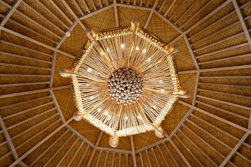 The Nautilus Maldives Luxury Resort - Thiladhoo Island, Maldives - Ceiling Natural Decor