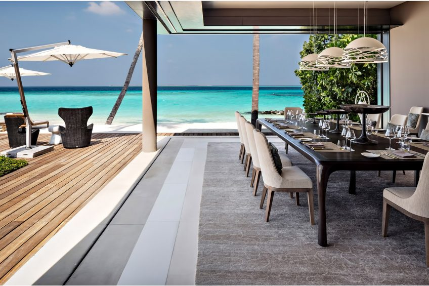 Cheval Blanc Randheli Luxury Resort - Noonu Atoll, Maldives - Exclusive Private Island Villa Interior Exterior Living Design