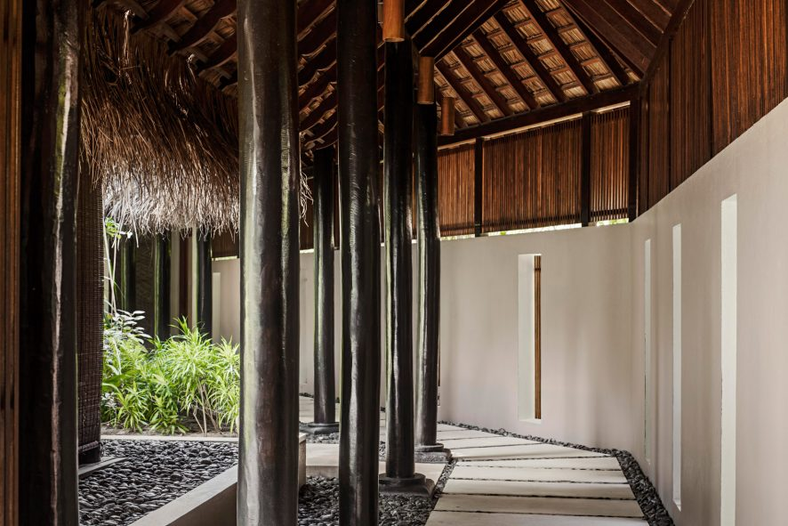 One&Only Reethi Rah Luxury Resort - North Male Atoll, Maldives - Spa Building Entrance