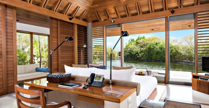Amanyara Luxury Resort - Providenciales, Turks and Caicos Islands - Villa Bedroom Water View