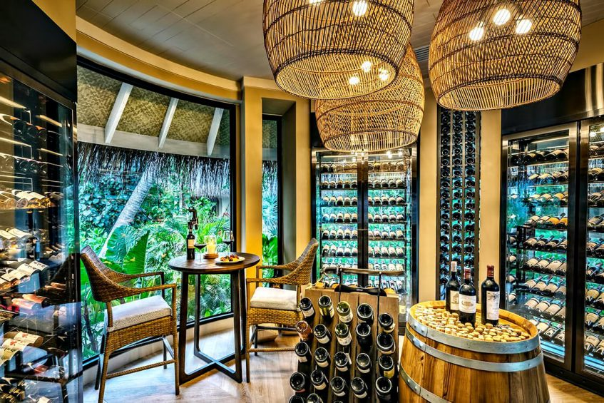 The Nautilus Maldives Luxury Resort - Thiladhoo Island, Maldives - Wine Room
