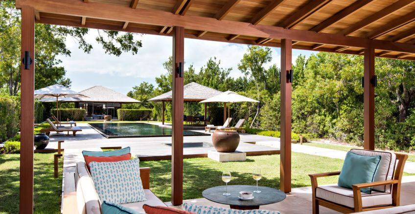 Amanyara Luxury Resort - Providenciales, Turks and Caicos Islands - Villa Terrace Pool View