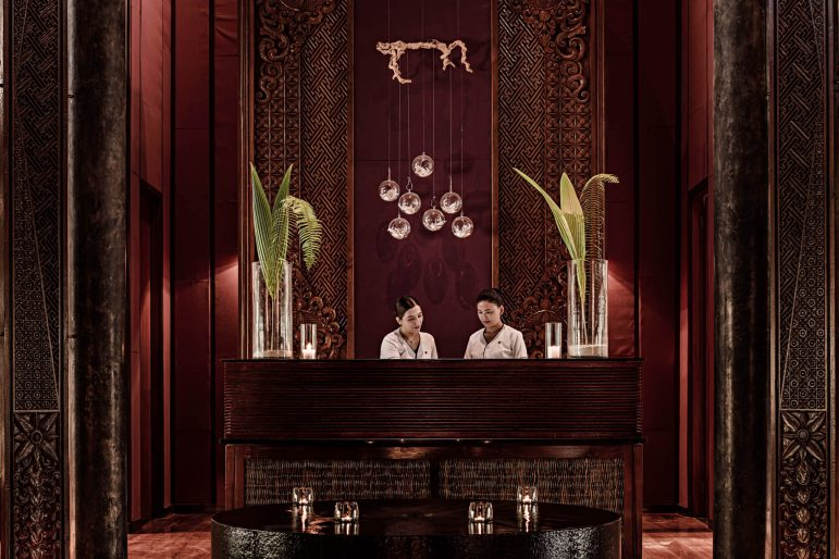 One&Only Reethi Rah Luxury Resort - North Male Atoll, Maldives - Spa Reception
