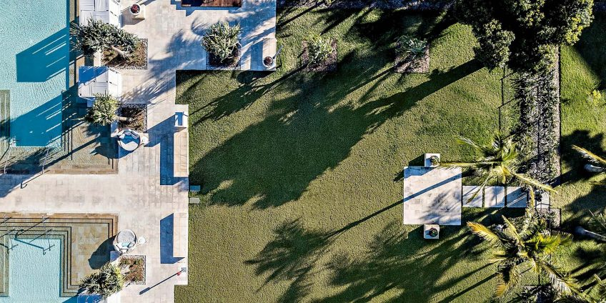 InterContinental Hayman Island Resort - Whitsunday Islands, Australia - Hayman Resort Poolside Grounds Overhead View