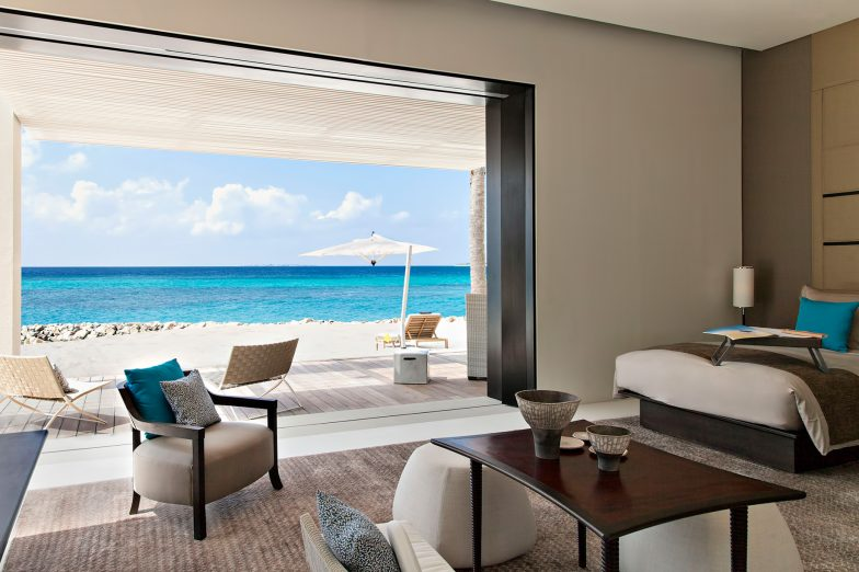 Cheval Blanc Randheli Luxury Resort - Noonu Atoll, Maldives - Exclusive Private Island Bedroom Ocean View