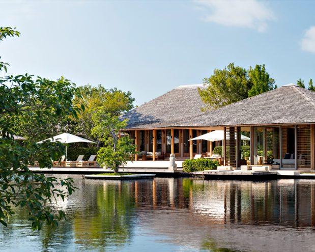 Amanyara Luxury Resort - Providenciales, Turks and Caicos Islands - Villa Exterior Overwater View