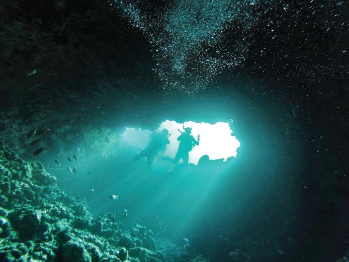 Amilla Fushi Luxury Resort and Residences - Baa Atoll, Maldives - Blue Hole Scuba Diving Experience