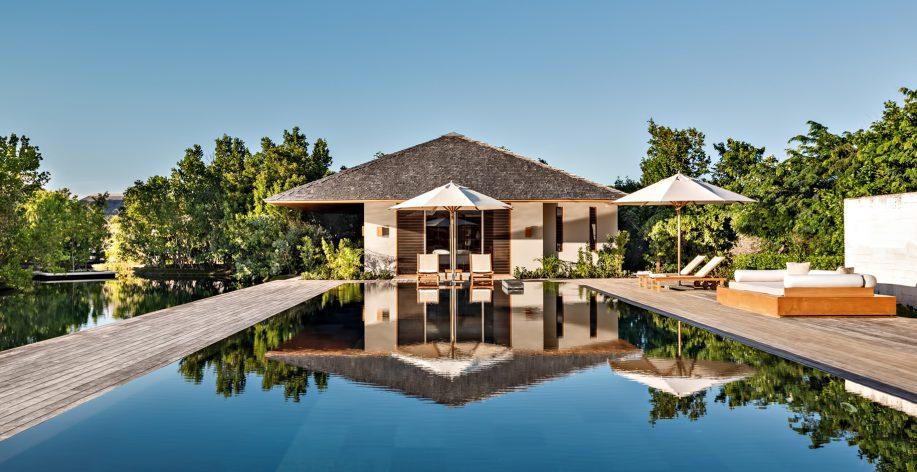 Amanyara Luxury Resort - Providenciales, Turks and Caicos Islands - Villa Exterior Pool View