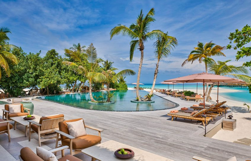 Joali Maldives Luxury Resort - Muravandhoo Island, Maldives - Mura Bar Main Pool