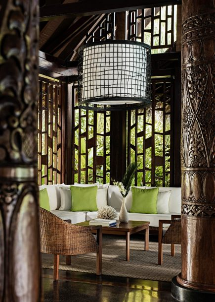 One&Only Reethi Rah Luxury Resort - North Male Atoll, Maldives - Reception Lobby