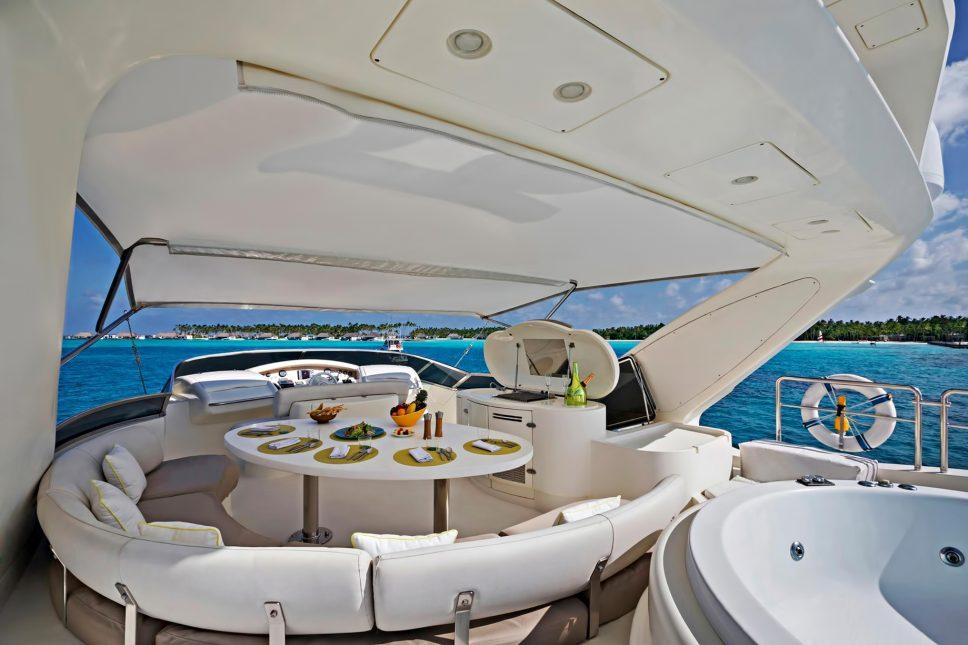 Cheval Blanc Randheli Luxury Resort - Noonu Atoll, Maldives - Azimut Yacht Interior