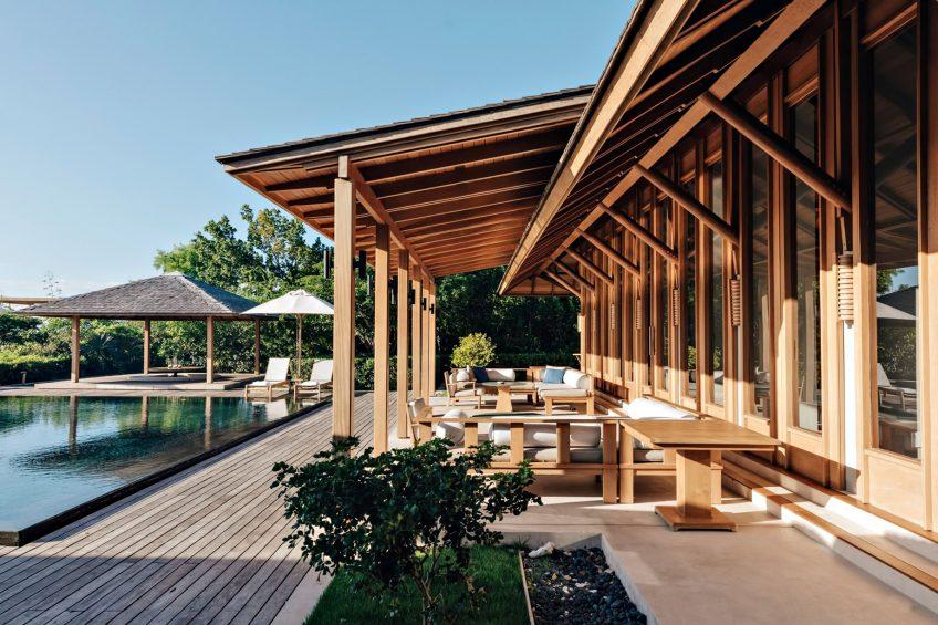 Amanyara Luxury Resort - Providenciales, Turks and Caicos Islands - Villa Exterior Covered Deck