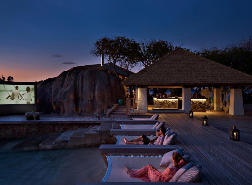 Six Senses Zil Pasyon Luxury Resort - Felicite Island, Seychelles - Evening Beachfront Movie