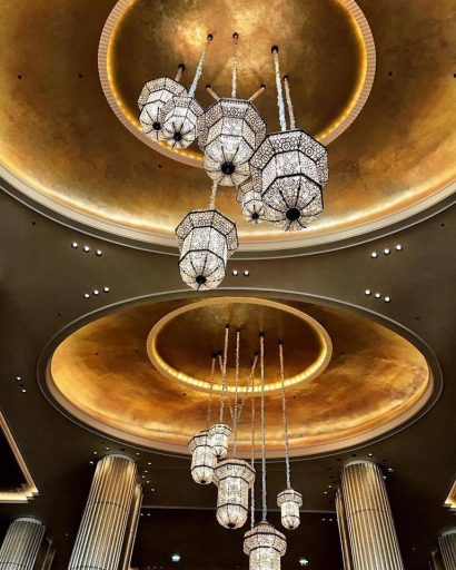 The St. Regis Abu Dhabi Luxury Hotel - Abu Dhabi, United Arab Emirates - Grand Staircase