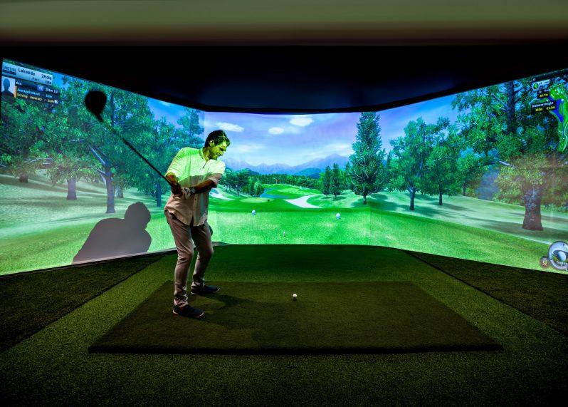 InterContinental Hayman Island Resort - Whitsunday Islands, Australia - Golf Simulator