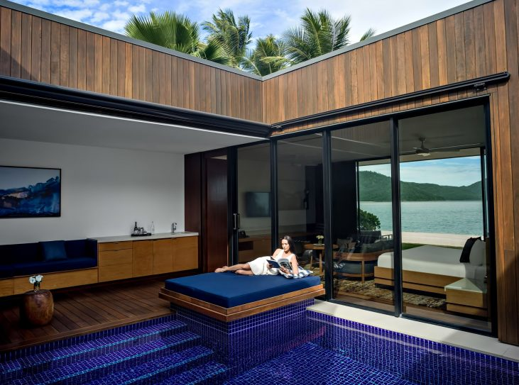 InterContinental Hayman Island Resort - Whitsunday Islands, Australia - Poolside Relaxation Bed