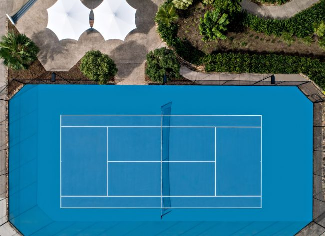 InterContinental Hayman Island Resort - Whitsunday Islands, Australia - Tennis Court