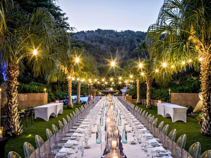 InterContinental Hayman Island Resort - Whitsunday Islands, Australia - Formal Garden Banquet