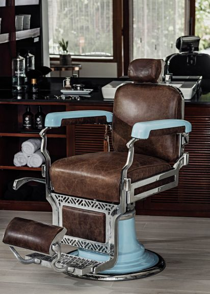 One&Only Reethi Rah Luxury Resort - North Male Atoll, Maldives - Barber and Blade Chair